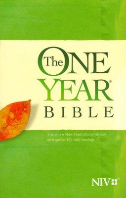 NIV One Year Chronological Bible