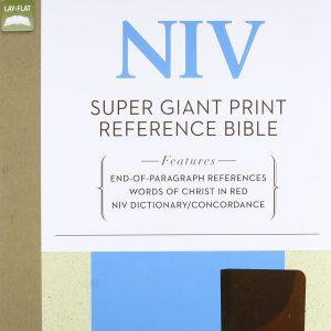 NIV Large Print Reference Bible
