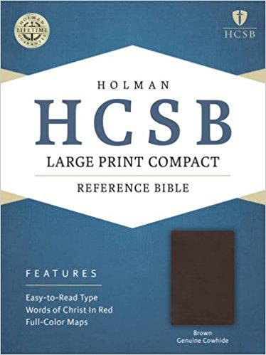 HCSB Large Print Compact Bible