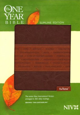 NIV One Year Slimline Bible