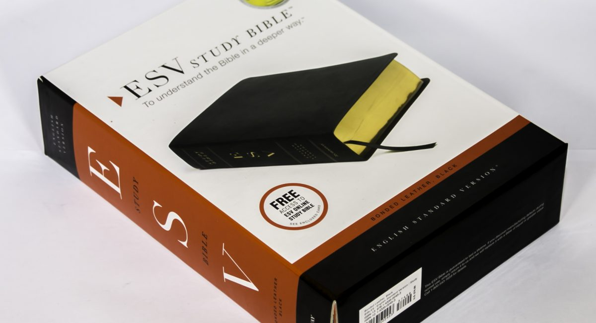 English Bible - ESV Study Bonded Leather