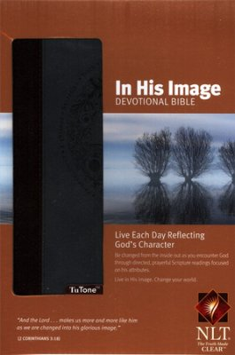 NLT In His Image Devotional Bible